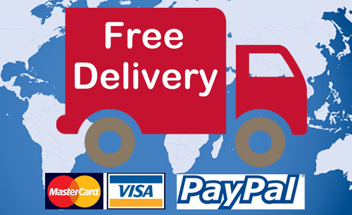 Free Delivery World Wide